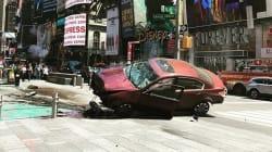 Une voiture fonce dans la foule à Times Square faisant un mort et plusieurs