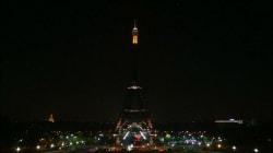 Tour Eiffel spegne le luci in segno di lutto per
