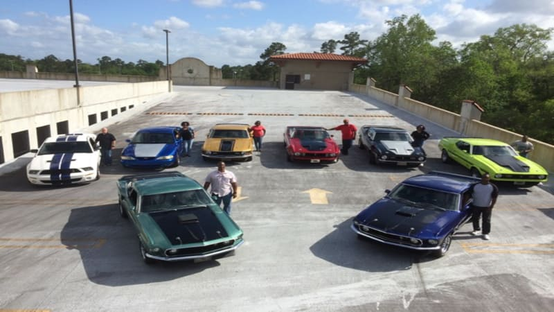 One family named Speed, one passion, a whole stable of Mustangs