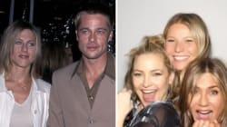 Jennifer Aniston compie 50 anni e si regala una festa con gli amici (e con Brad