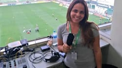 Isabelly Morais: A narradora da Fox Sports que fez história no jogo de abertura desta