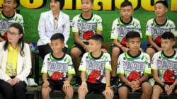 タイの洞窟に閉じ込められたサッカー少年ら、脱出順は自分たちで決めた