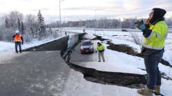 米アラスカでM7.0の地震 道路が大きく破損し、停電が発生