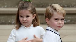 The Royal Kids Couldn't Have Been Cuter At Princess Eugenie's