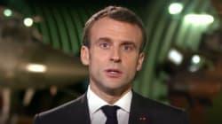 Macron remercie les soldats qui permettent aux Français de passer Noël
