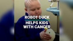 Robot Duck Helps Kids With