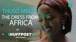 Thuso Mbedu: Here Is How The Beautiful Dress Came