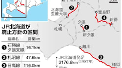 JR北海道、赤字5路線5区間廃止へ。一部自治体と同意を得られるかが焦点