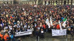 Migliaia in piazza per il Sì alla Tav. Gli organizzatori: