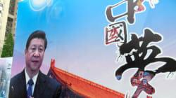 中国の習近平・国家主席のポスターに女性が墨をかける。動画で投稿し、大騒ぎに