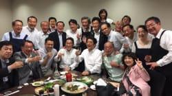 豪雨前の「赤坂自民亭」写真、Twitter投稿を陳謝 西村官房副長官