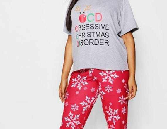 Fashion seller under fire for 'OCD' pajamas