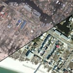 Dramatic Before-And-After Satellite Images Show Hurricane Michael