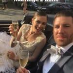 Maripier Morin et Brandon Prust se marient pour une deuxième