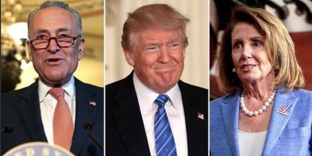 Trump va a cena con i Democratici e fa dietrofront sui Dreamers |  non saranno espulsi