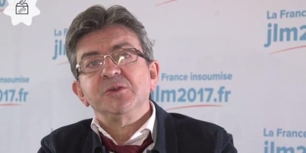 """Jean-Luc Mélenchon trouve David Pujadas """"usé"""""""