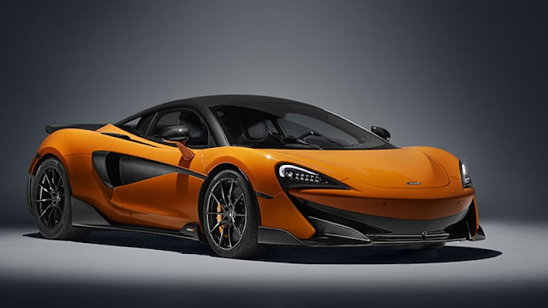 photo image McLaren to go full hybrid by 2025 as part of plan for 18 new models and derivatives