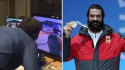 La Spagna vince una medaglia dopo 26 anni, l'esplosione di gioia del commentatore è
