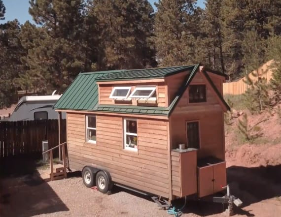 Tiny house inspired a couple to spend time outdoors