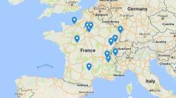 La carte des inondations en France (hors