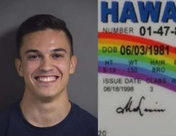 Underage man arrested after using fake ID