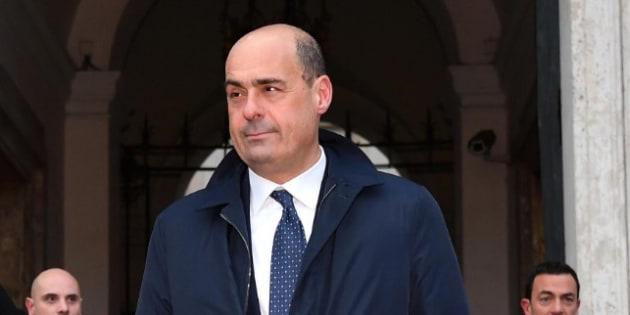 """Nicola Zingaretti: """"Se cade il Governo niente giochini,"""