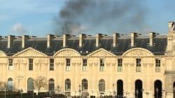 Le Carrousel du Louvre évacué après un incendie