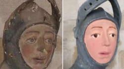 La restauration ratée de cette sculpture en Espagne va forcément vous rappeler quelque
