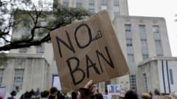 Justice Department Appeals Order Blocking Trump Travel