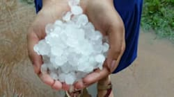 While You Burrrrrn In May Heat, There Was A Hailstorm In Kerala's