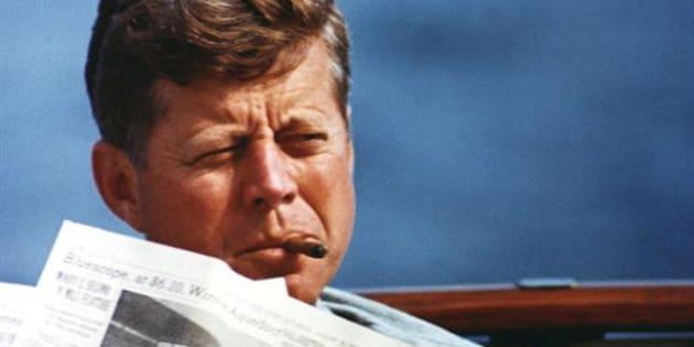 Imagen de archivo del presidente John F. Kennedy.
