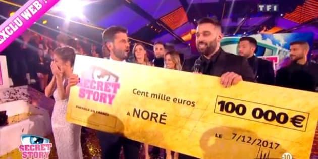Secret Story 11: Noré est le grand gagnant de la finale