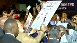WATCH: Indian Diaspora Chant 'Bharat Mata Ki Jai' To Welcome PM Modi In
