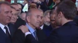 Gérard Collomb ému aux larmes de voir Macron à
