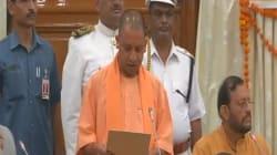 UP CM Yogi Adityanath Takes Oath As Member Of Legislative
