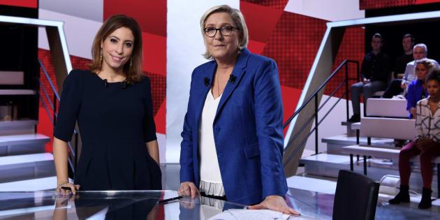 Marine Le Pen signe la pire audience de L'Emission politique.