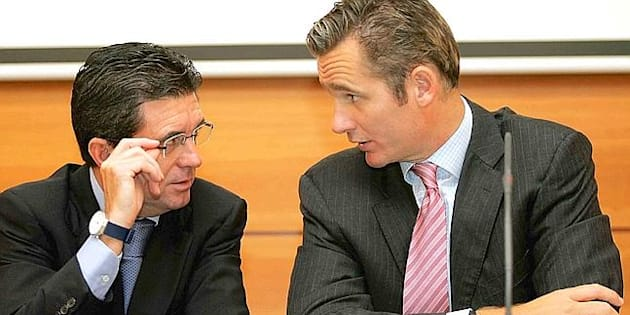 Jaume Matas e Iñaki Urdangarin, en una imagen de archivo.