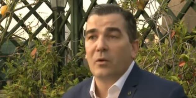 Frédéric Chatillon lors d'une interview sur LCI en avril 2016.