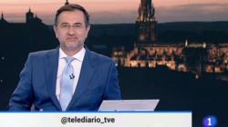 El inesperado mensaje de este presentador de TVE en pleno