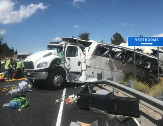 Tour bus crash near national park in Utah kills 4