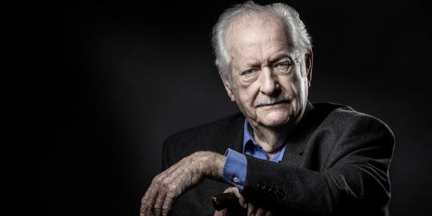 Pierre Bellemare, ici en novembre 2016 à Paris, est mort à 88 ans.