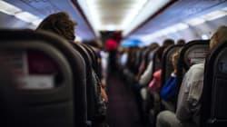 La probabilité d'être malade en avion est très