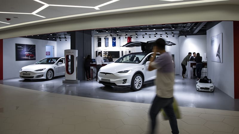 Tesla registers financial leasing company in China | Autoblog
