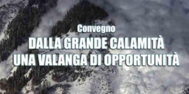 'Valanga opportunità', proteste su convegno in Abruzzo