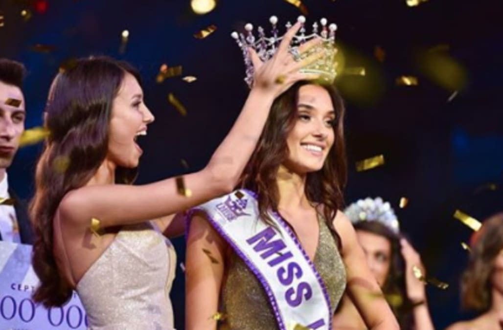 Miss Ukraine is stripped of her crown after pageant