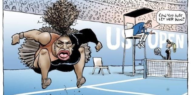 La caricature de Mark Knight, publiée dans le Herald Sun, crée la polémique depuis ce lundi, jugée raciste et misogyne.