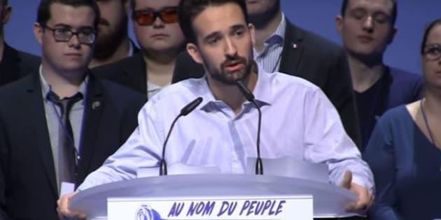 Davy Rodriguez démissionne du FN après la diffusion d'une vidéo avec des insultes racistes