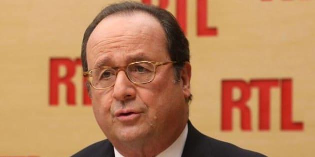 François Hollande était invité sur RTL ce 14 décembre 2017.