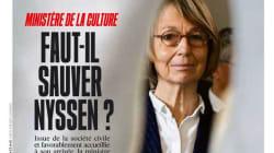 Contestée dans le milieu culturel, Françoise Nyssen garde