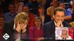 On sait enfin pourquoi Sarkozy est parti dans un fou rire incontrôlable en direct il y a 17